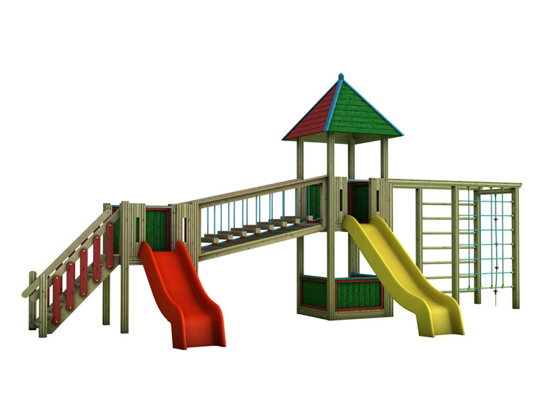 Play structure COUNTRY | 2013 - INDUSTRIA LEGNAMI TIRANO