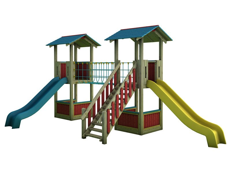 Play structure COUNTRY | 2014 - INDUSTRIA LEGNAMI TIRANO