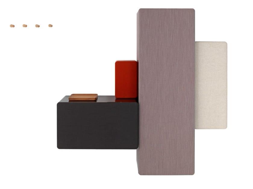 Modular wall-mounted hallway unit DICE - Schönbuch
