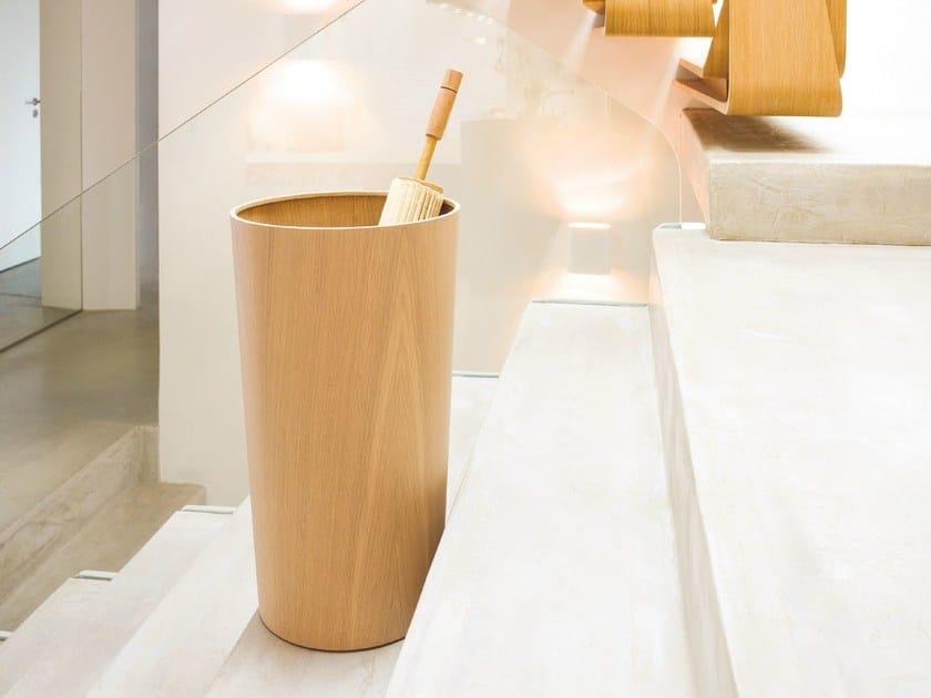 Floorstanding wooden umbrella stand 0514 | Wooden umbrella stand - Schönbuch