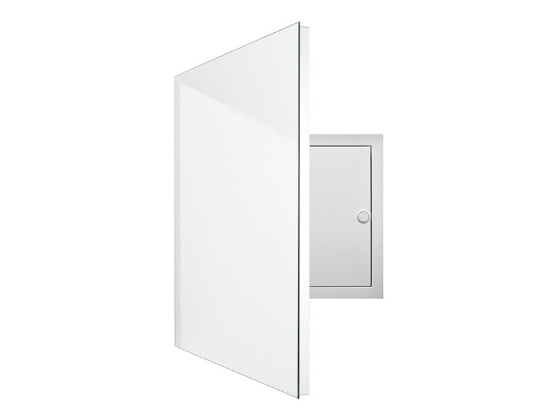 Rectangular wall-mounted mirror ELECTRIC by Schönbuch