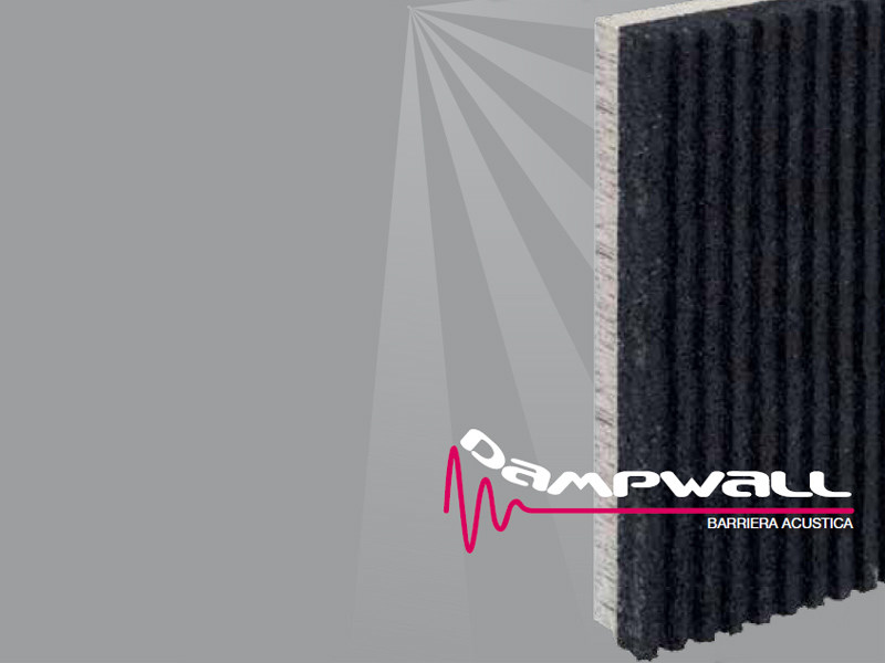 Sound insulation panel DAMPWALL - PROJECT FOR BUILDING