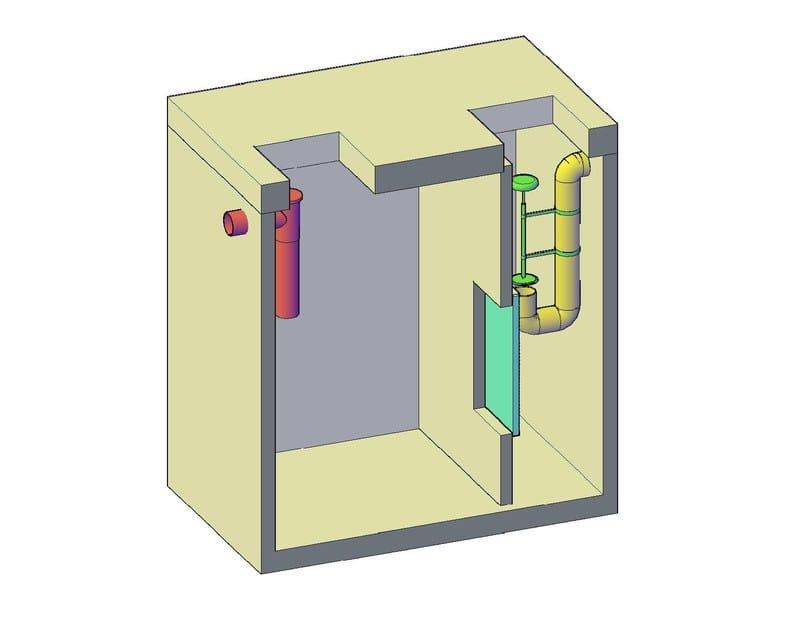 Oil separator, de-oiler and grease separator Separatori liquidi leggeri - F.LLI ABAGNALE