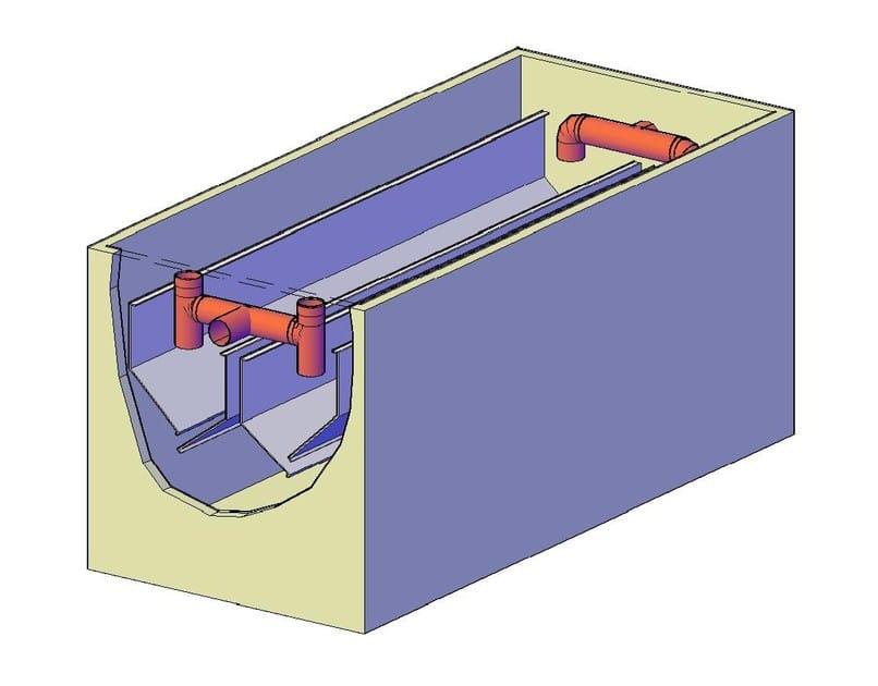 Sedimentation tank for drainage system Sedimentatori e digestori by F.LLI ABAGNALE
