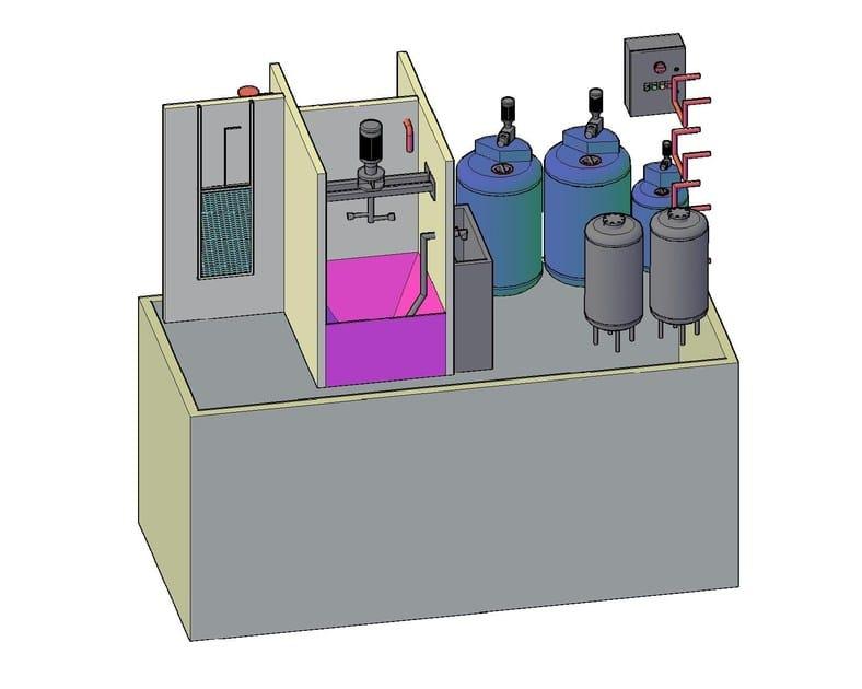 Purification and disposal system Impianti di trattamento chimico-fisico - F.LLI ABAGNALE