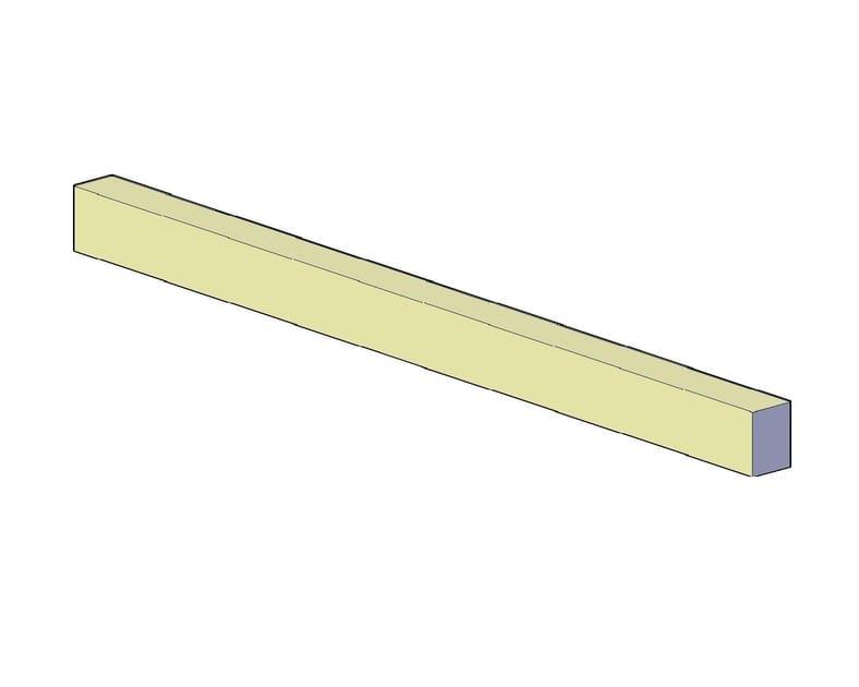 Precast reinforced concrete structural component Architrave - F.LLI ABAGNALE