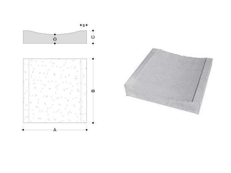 Concrete Drainage channel and part Concrete Drainage part - F.LLI ABAGNALE