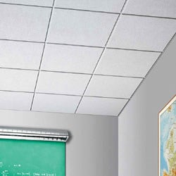 Acoustic mineral fibre ceiling tiles SABBIA - ARMSTRONG Building Products