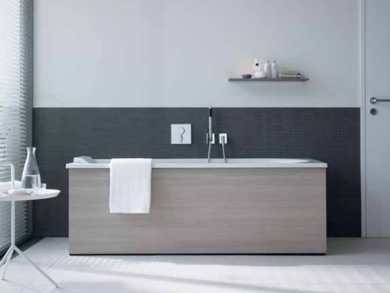 Darling new baignoire encastrable by duravit design for Grande baignoire encastrable