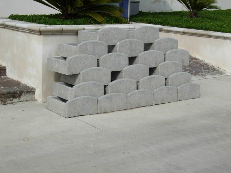 Blocchi di cemento per muri