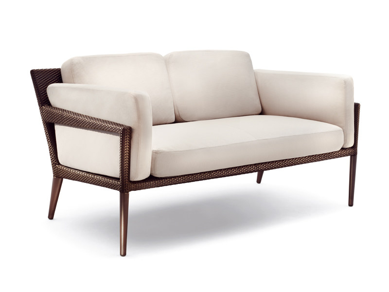 2 seater garden sofa TRIBECA | 2 seater sofa - Dedon