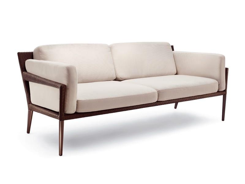 3 seater garden sofa TRIBECA | 3 seater sofa - Dedon