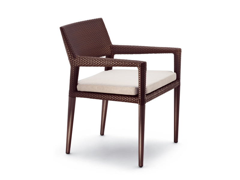 Garden armchair with armrests TRIBECA | Garden armchair - Dedon