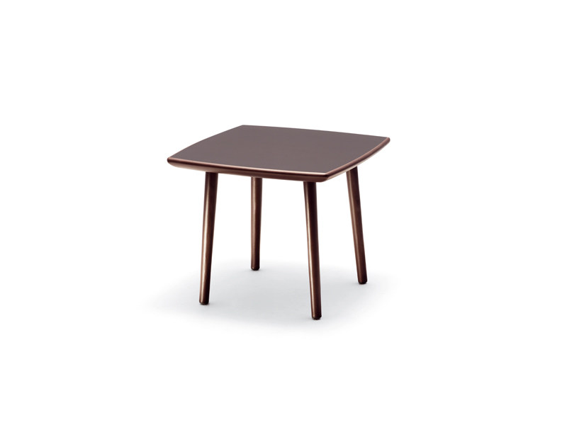 Square garden side table TRIBECA | Square coffee table - Dedon