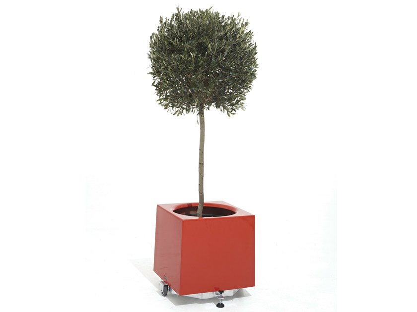 Glass-fibre planter ALEA - Extremis