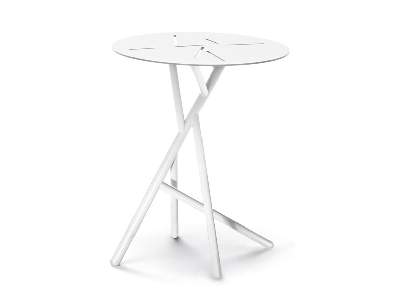 Round garden side table MANGROVE | Round coffee table - Dedon