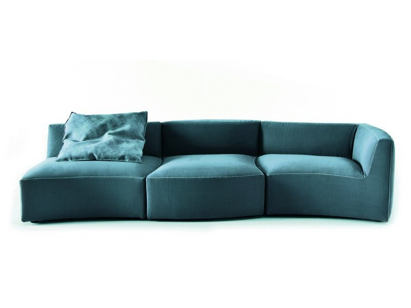 Modular sofa RIVER by Saba Italia