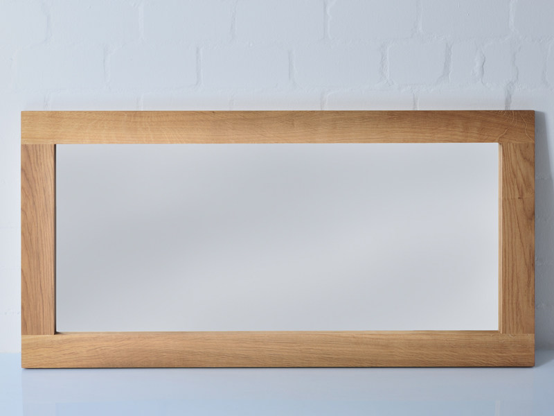 Freestanding rectangular framed mirror Mirror by Vitamin Design