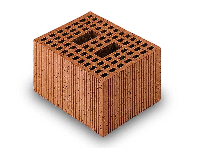 Thermal insulating clay block Porotherm Modulare 30-25/23,8 - WIENERBERGER
