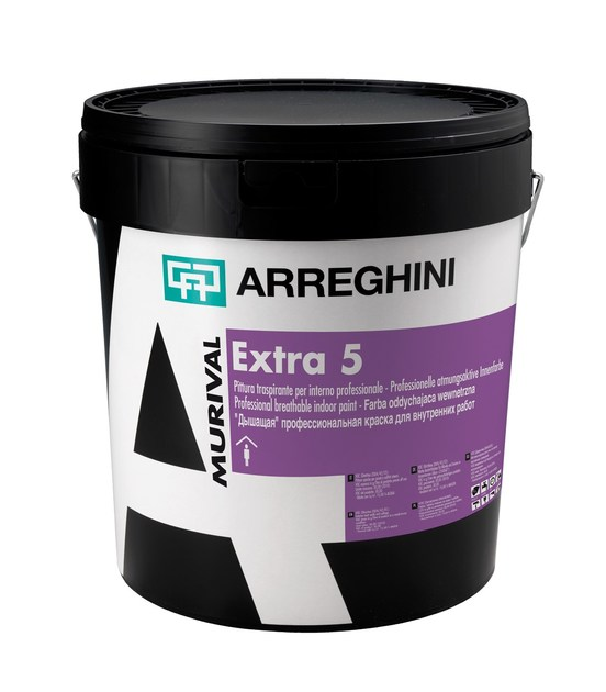 Breathable water-based paint MURIVAL 2000 TIX ENTRA N°5 - CAP ARREGHINI
