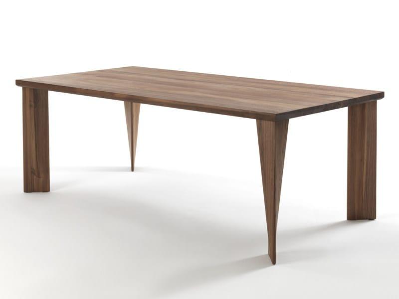 Rectangular wooden dining table ZEPPELIN - Riva 1920