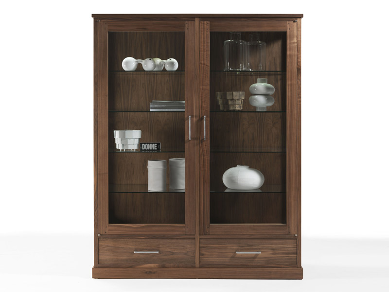 Wooden display cabinet COLONIA 2011 by Riva 1920