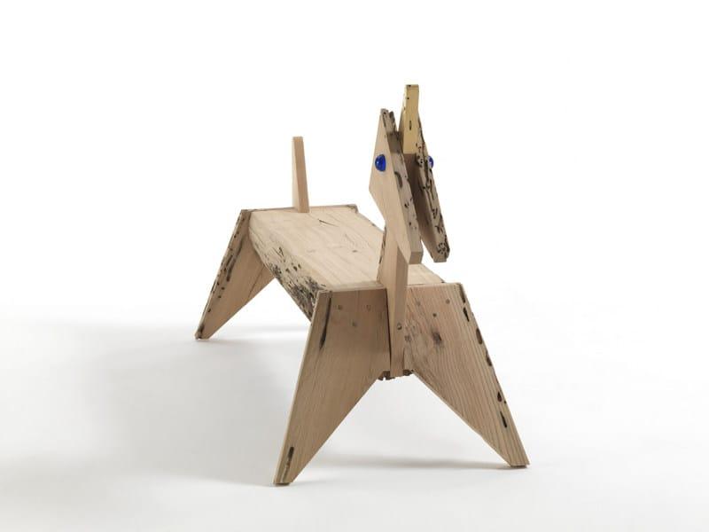 Briccola wood bench UNICORNO - Riva 1920