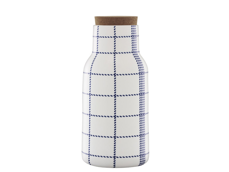 Ceramic jug MORMOR BLUE DECANTER - Normann Copenhagen