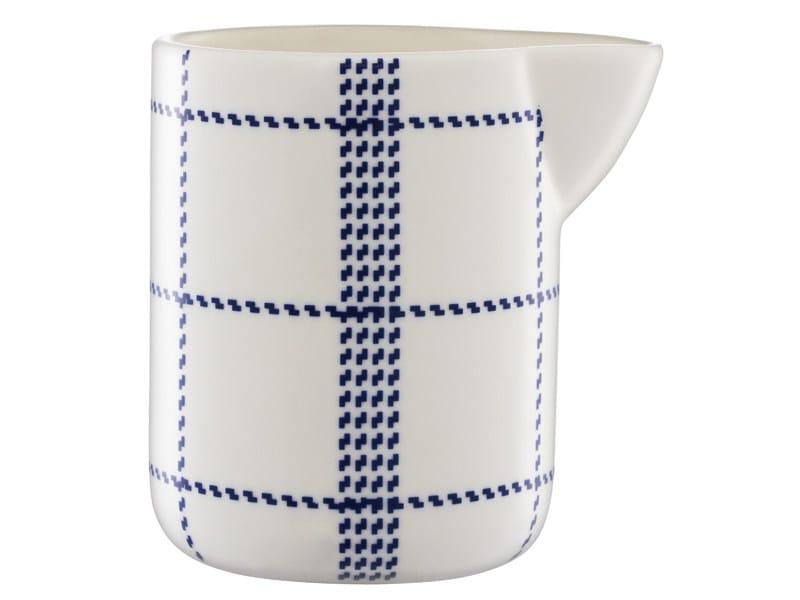 Ceramic jug MORMOR BLUE JUG - Normann Copenhagen