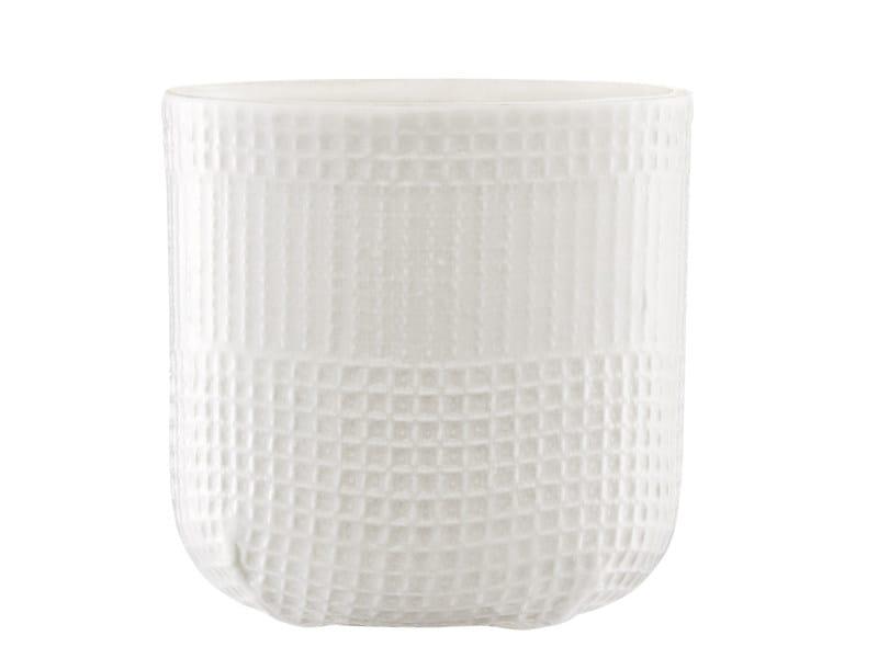 Ceramic cup MORMOR SQUARE CUP - Normann Copenhagen