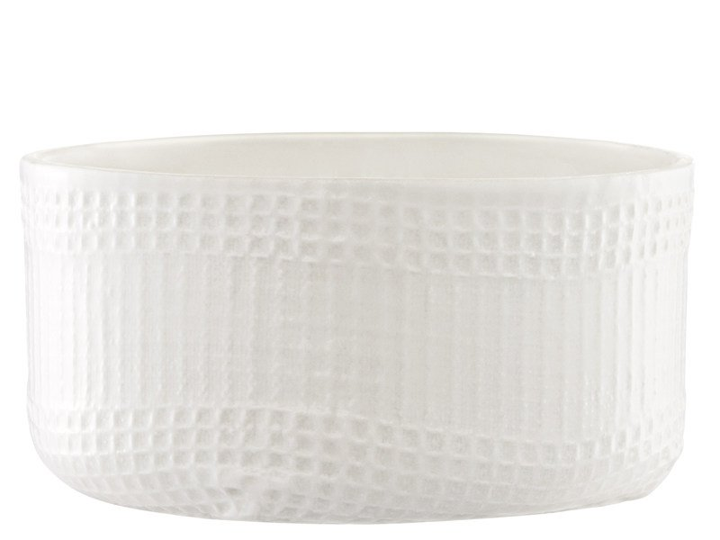 Ceramic serving bowl MORMOR SQUARE BOWL by Normann Copenhagen