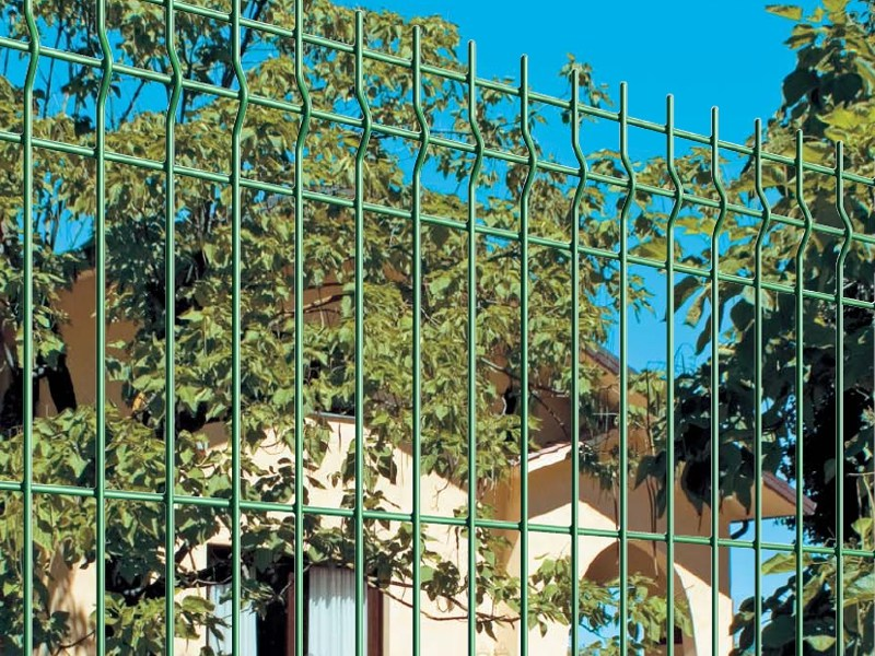 Modular electrically welded mesh Fence PANOPLAX by Gruppo CAVATORTA