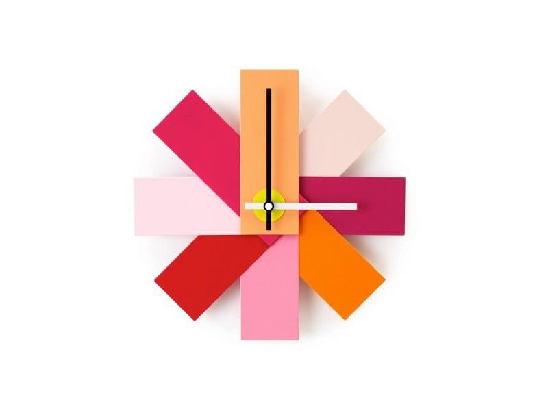 Wall-mounted clock WATCH ME by Normann Copenhagen