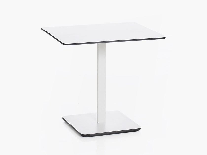 Low rectangular laminate bistro side table PONOQ | Rectangular coffee table - Karl Andersson & Söner