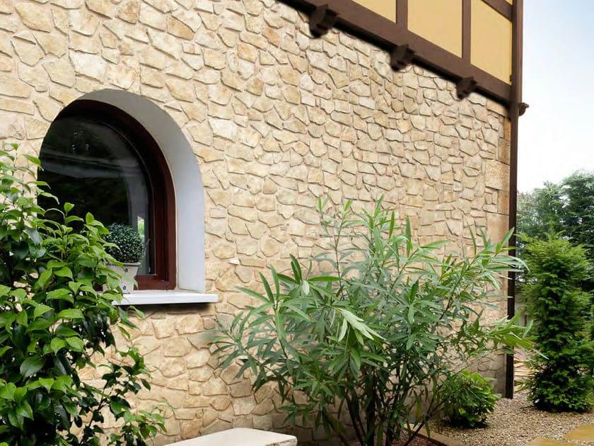Artificial stone finish MANSUS by SAS Italia