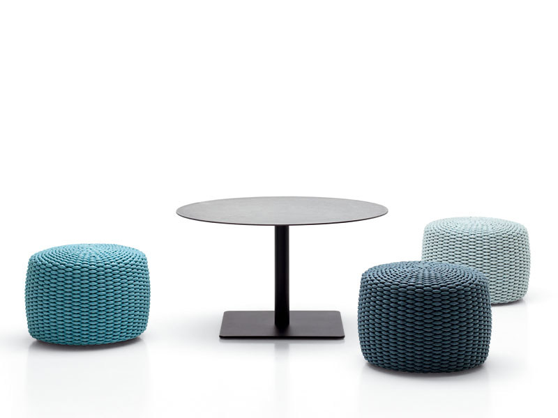 Height-adjustable round coffee table GIRO | Coffee table - Paola Lenti
