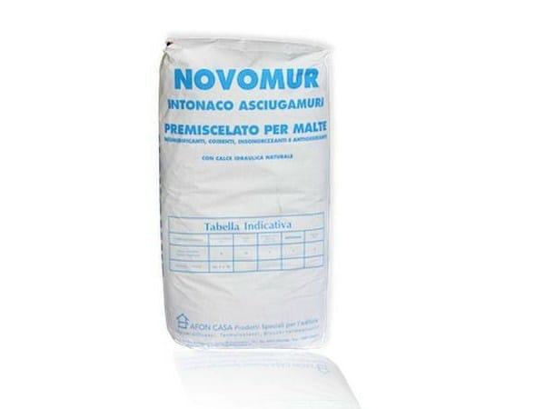 Dehumidifying plaster NOVOMUR® - AFON CASA