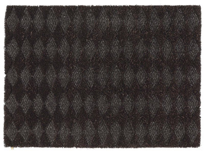 Patterned wool linen rug KONGO - Kasthall