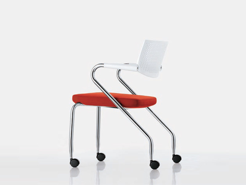 Task chair with casters VISAROLL 2 - Vitra