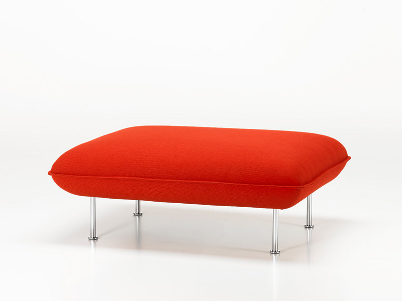 Repose pieds alcove ottoman collection alcove sofa by for Canape alcove bouroullec