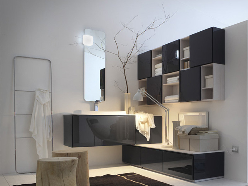 Bathroom furniture set SUEDE 14/15 - Cerasa