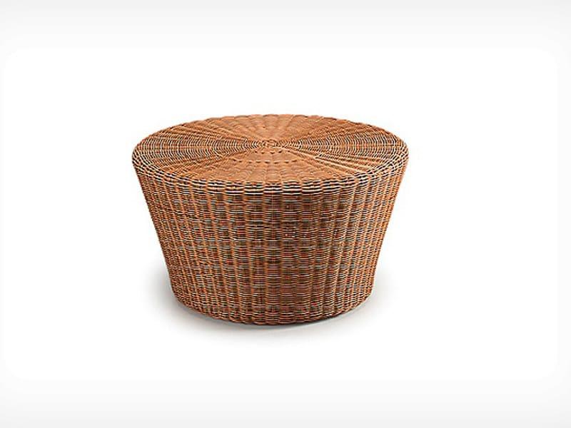 Round garden side table ORBIT | Round coffee table - Dedon