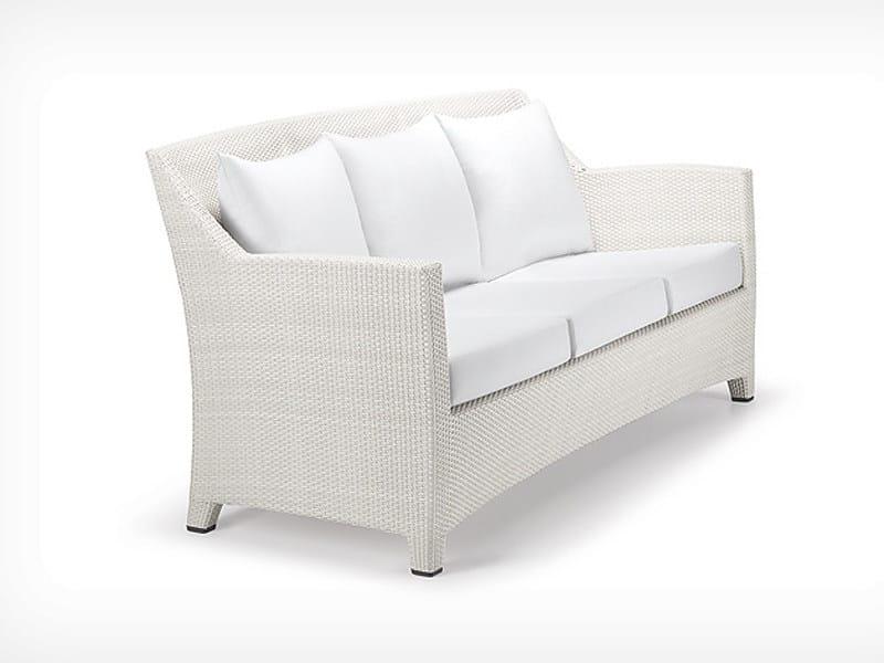 3 seater garden sofa BARCELONA | 3 seater sofa - Dedon