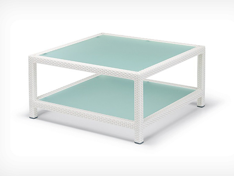 Square garden side table BARCELONA | Square coffee table - Dedon