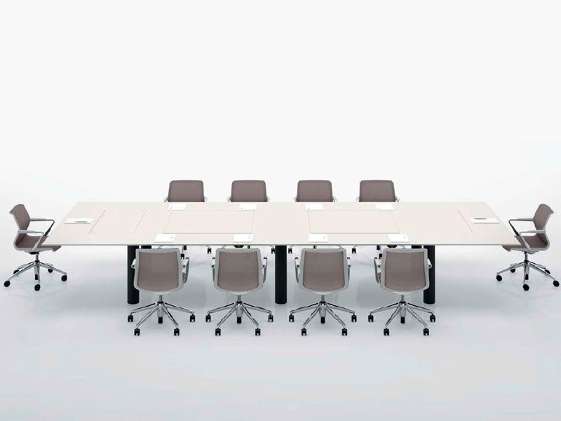 Rectangular meeting table KUUBO - Vitra