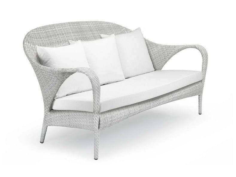 3 seater garden sofa TANGO | 3 seater sofa - Dedon