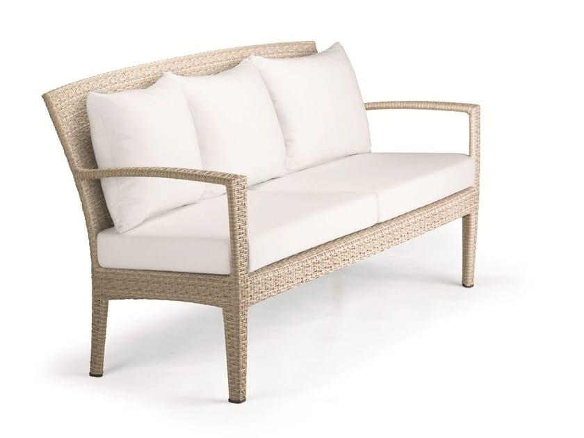 3 seater garden sofa PANAMA | Garden sofa - Dedon