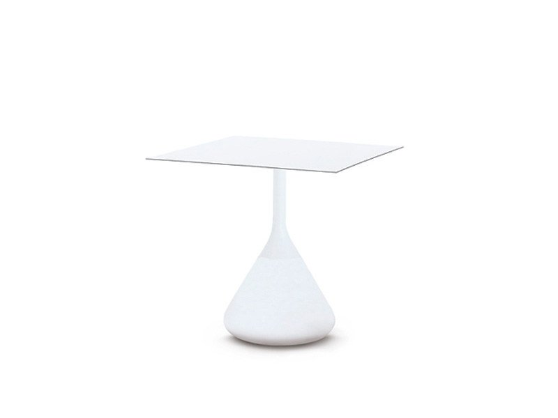 Square garden side table SATELLITE | Square coffee table - Dedon