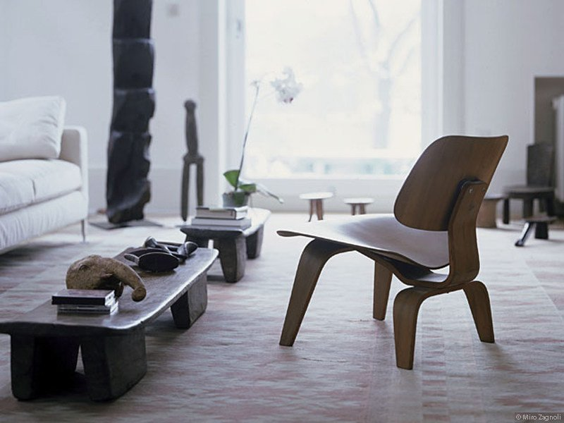 Laminate chair LCW - Vitra