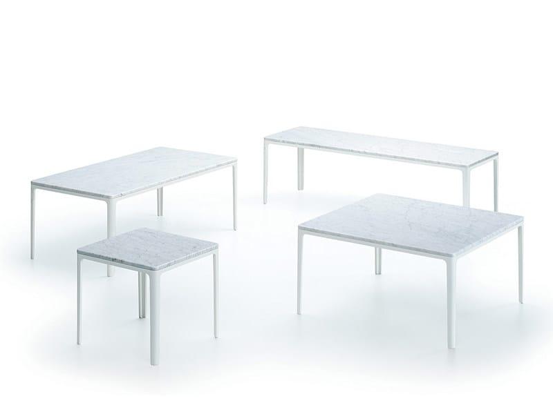 Niedriger Couchtisch für Wohnzimmer PLATE TABLE by Vitra Design ...